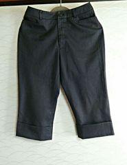 Sサイズ61�p黒色 ブラック半ズボン パンツ