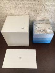4℃ ダイヤモンド リング K18WG 1.9g