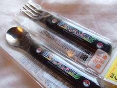 ポケモン弁当フォーク&スプーンセット黒630円新品スケーター