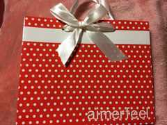E:aimerfeel(エメフィール)ドット可愛いリボン限定ショ袋