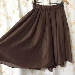 #a.v.v ブラウンスカート
