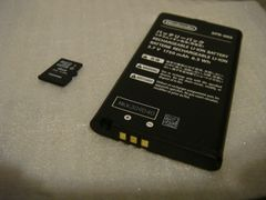 New ニンテンドー 3DS LL/ニンテンドー3DS LL 専用 純正バッテリー microSD4GB