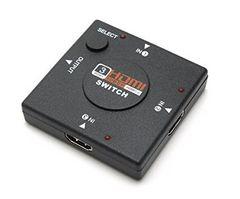 【送料込】3ポート HDMI ケーブル セレクター 切替器