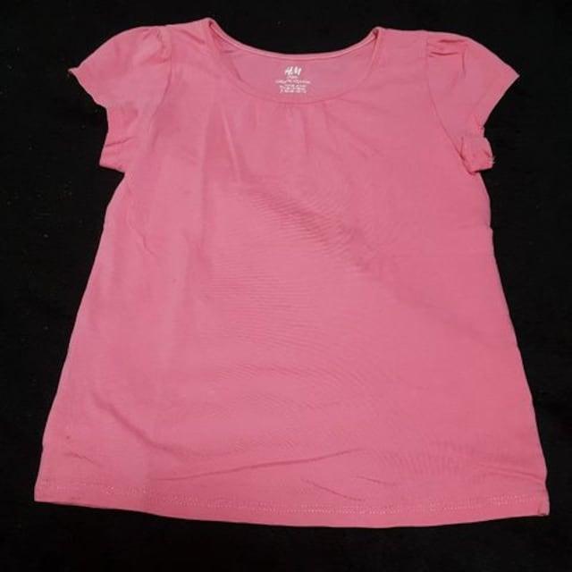 H&MTシャツ2枚セット☆サイズ130 < ブランドの