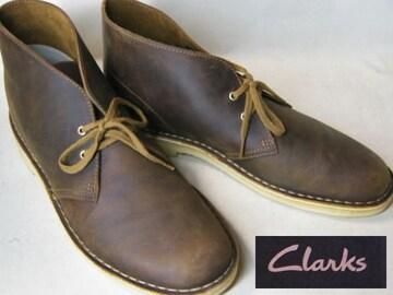クラークスCLARKS新品デザートブーツ26106562ブラウンus8
