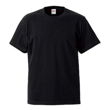 United Athle 5.6オンス ハイクオリティー Tシャツ ブラック S