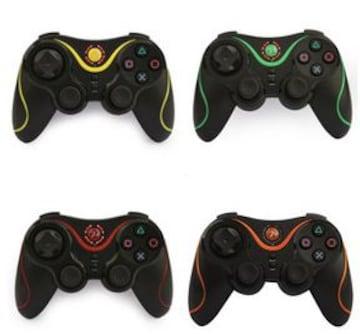 PS3対応 ワイヤレスコントローラー Bluetooth オレンジz