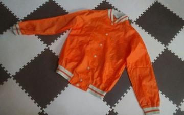 COMMONーV Mサイズ オレンジ 美品 ウィンドウブレーカー