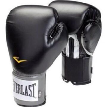 新品 送無 Everlast 練習用ボクシンググローブ16ozブラック