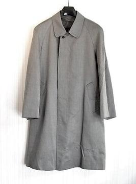 sizeM☆良品☆ランバン シルク製ステンカラーコート 春秋用