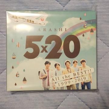 嵐 JAL国内線機内限定パッケージ 5×20アルバム