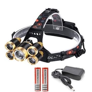 8000ルーメン 超強力 LED ヘッドライト