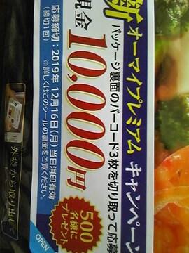 現金1万円当たる!500名