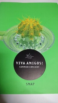 SMAP VIVA AMIGOS! SUMMER CONCERT パンフレット