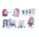 送料無料 BLACK PINKアニメ ミニ ミニ ステッカー セット N752