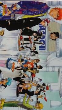 ブリーチ 10周年記念イベント 原宿卍解祭 クリアファイル 1枚