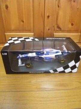 1/18F1、ウィリアムズルノーFW18(D.ヒル)