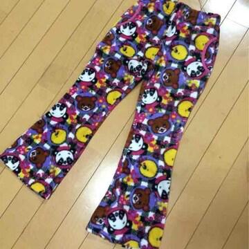 新品◆あったかフリース◆可愛いアニマル柄パンツ◆120