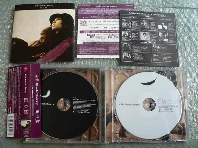 Acid Black Cherry【眠り姫】初回限定盤/CD+DVD/帯有/他にも出品 < タレントグッズの