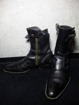 アルフレッドバニスター〓サイドジップブーツ靴〓黒/42
