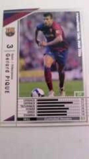 WCCF非売品EXTRA[0809ジェラールピケ]FCバルセロナ/スペイン  < トレーディングカードの