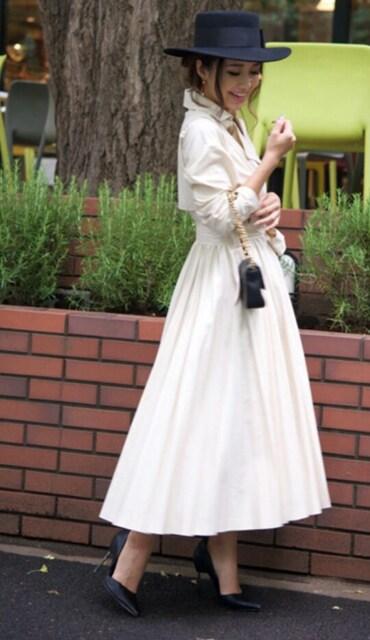 値下げ エイミーエストワール 2wayトレンチコート 定価23000円 < 女性ファッションの