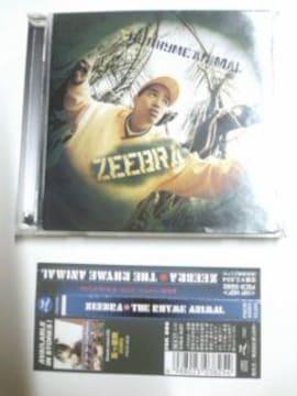 (CD)ZEEBRA/ジブラ☆THE RHYME ANIMAL★帯付き 即決価格