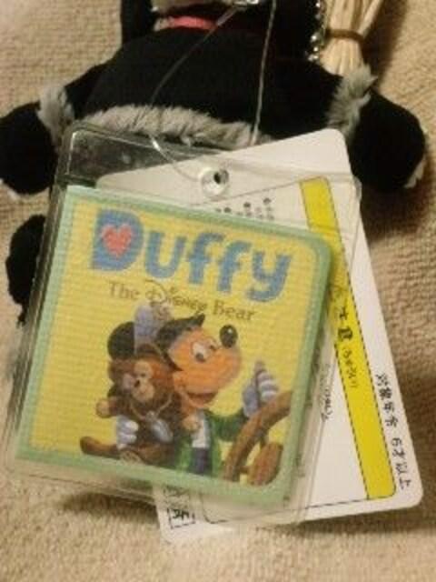 ディズニーTDS2009ダッフィーぬいぐるみバッチ黒猫初版 < おもちゃの