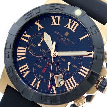 サルバトーレマーラ腕時計 メンズ SM18118-PGBL