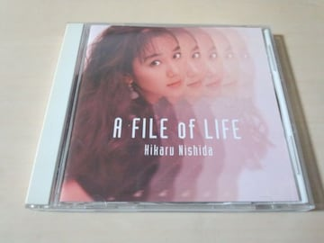 西田ひかるCD「A FILE of LIFE」●