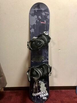 キスマーク kids用 スノーボード 125  訳あり!