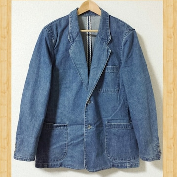 SINA COVA シナコバ デニムジャケット M 日本製 カバーオール