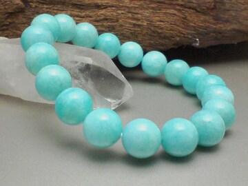 極上§10ミリ§ペルー産アマゾナイト数珠