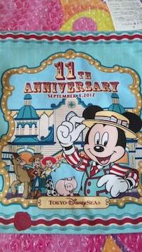 ディズニーシー TDS 11周年 きんちゃく 巾着袋 ミッキー ウッディ トイマニ ピクサー