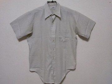 即決USA古着●鮮やかストライプデザイン半袖シャツ!アメカジヴィンテージ