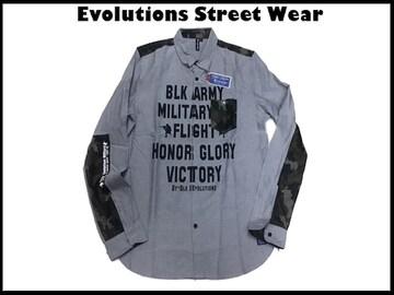 新品 正規品 Evolution Street Wear ワークウェアシャツ XL