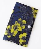 定価3,132円【新品】パール付き花柄ジャガードふくさ Blueブルー