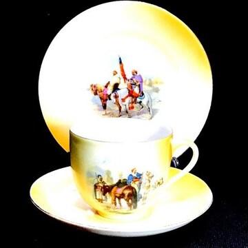 チェコスロバキア Carlsbad カールスバード1900年カップ&ソ