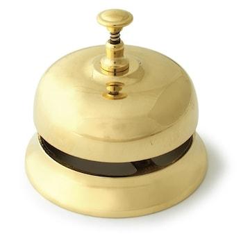 イタリア直輸入 アンティーク調 テーブルベル 真鍮 呼び鈴