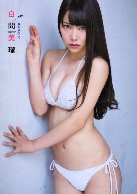 送料無料!白間美瑠☆ポスター3枚組7〜9  < タレントグッズの