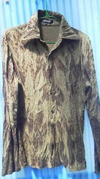 5351長袖シャツ柄レオパード
