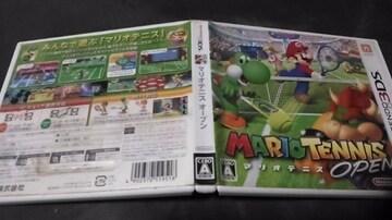 Nintendo 3DSソフト/マリオテニスオープン