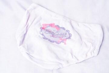 52 バックプリント 紫 少女パンツ 160