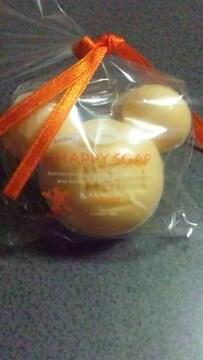 ディズニー ミッキー型 石鹸 ハッピーソープ オレンジの香り