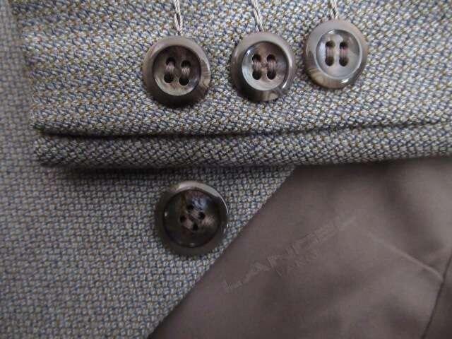 有名ブランド&新品同様&国産★ランセル/LANCEL★毛/緑系/AB5 < 男性ファッションの