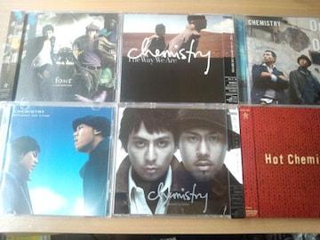 ケミストリーCD6枚セット CHEMISTRY★アルバム