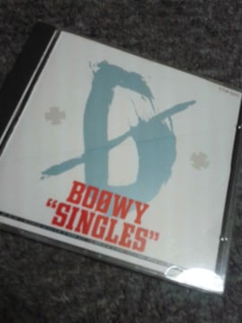 BOOWYアルバムCD SINGLES