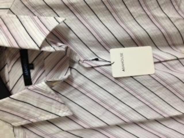新品タグ アバハウス長袖シャツ3 < ブランドの