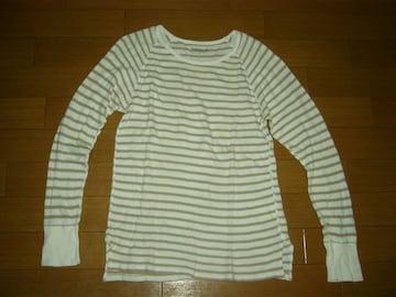 ノンネイティブnonnativeカットソー1ボーダーロンTシャツ