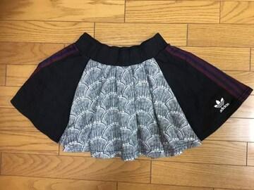 中古アディダス和柄スカートS